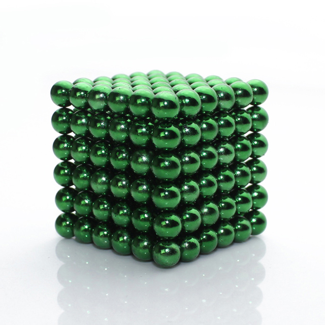 216 5mm Education Toys Multi Molding Magnetic Balls Neoxcube