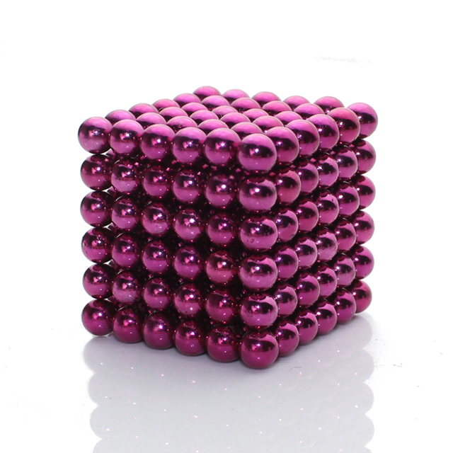 216pcs Purple Red 5mm Bucky Balls Zen Magnets