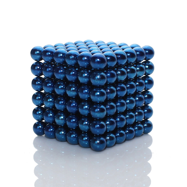 216x5mm Blue ZenMagnets Neo Cube Magnetic Toys