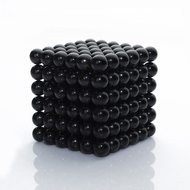 5mm 216pcs Metallic Black Neocube QQMAG Neoballs