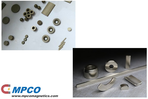 Accelerator Magnets Sm2Co17 and Nd2Fe14B magnets