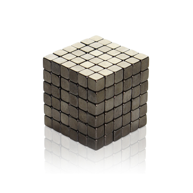 4mm 216Pcs Black Nickel Buckycubes Magnetic Building Blocks