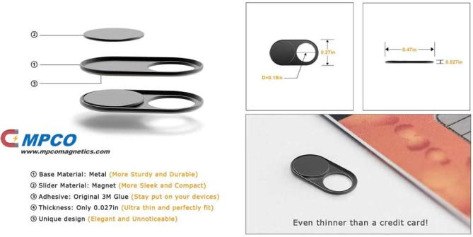 About Magnetic Webcam Cover