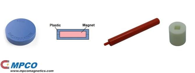 Ultrasonic welding Plastic integrated magnet