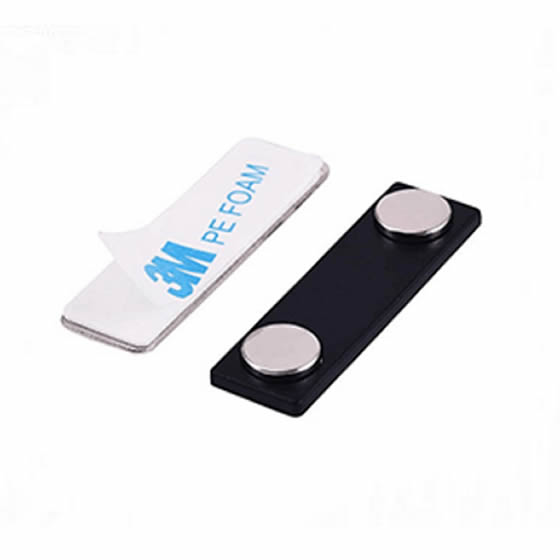Magnetic Reusable Badges ID Logo with 3M Adhesives