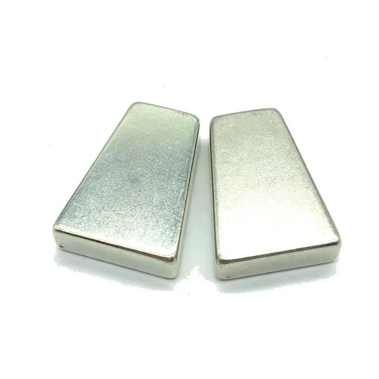 N48SH NdFeB Trapezoid Magnets