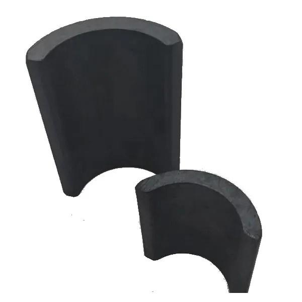 Anisotropic Ceramic Magnets C8 Arc-shape
