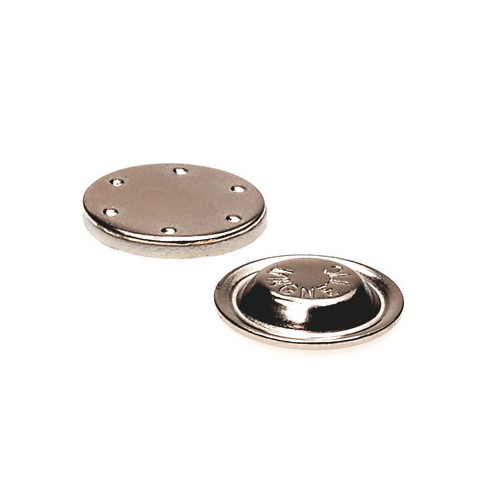 Metal Magnetic Round Button Name Badge