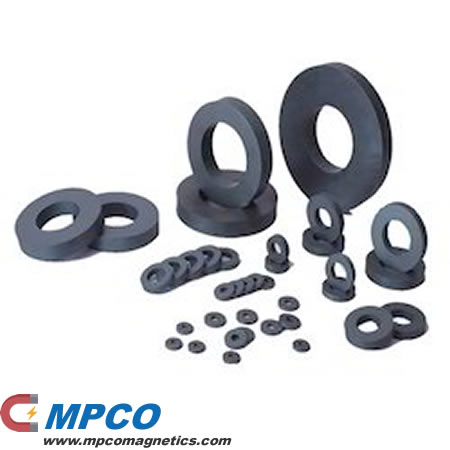 Multipole Ring Ferrite Magnets