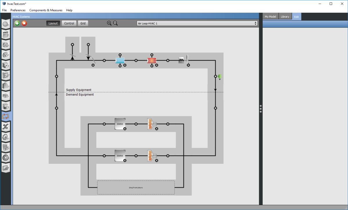 A fully customized hvac system (VAV Reheat)   MPen Design   Mingbo