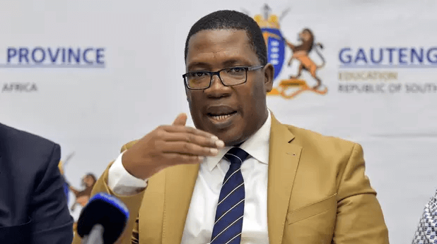 Gauteng Provincial MEC for Education, Panyaza Lesufi