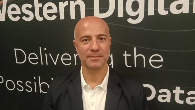 Western Digital Sales Director for Africa, Ghassan Azzi. Photo by Savious Kwinika, CAJ News Africa
