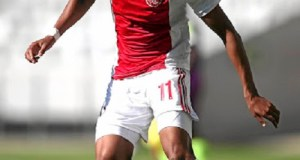 Ajax Cape Town winger, Abednego Mosiatlhaga. Photo by Shaun Roy of Gallo Images