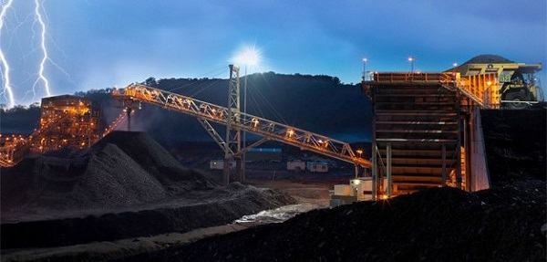Mining in Rustenburg, South Africa