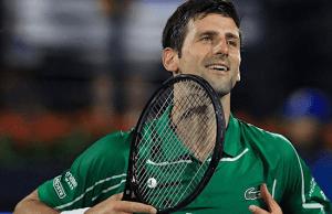 World number 1 and Serbian international tennis player, Novak Djockovic