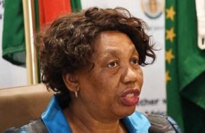 Minister of Basic Education, Angie Motshekga