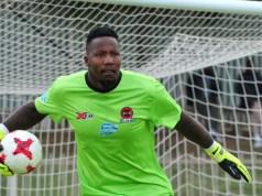 Newly signed SuperSport United goalkeeper, George Chigova
