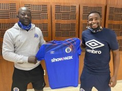 SuperSport United midfielder, Lucky Mohomi