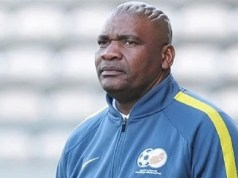South Africa's Bafana coach, Molefi Ntsek
