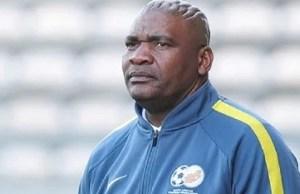 South Africa's Bafana coach, Molefi Ntsek