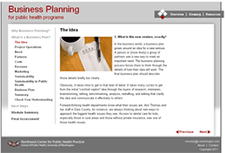 Business Planning for Public Health Programs Image