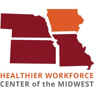 logo for the Healthier Workforce Center of the Midwest