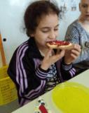 Paasontbijt, samen met de klas van juf Silke...En dat het gesmaakt heeft!!!