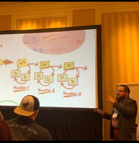 I presented at DevLearn 2019
