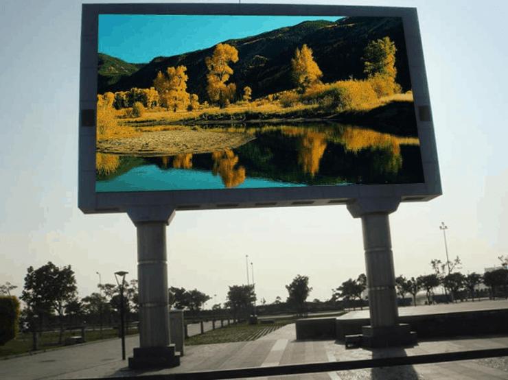 outdoor led display rental