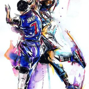 Basketball Amazing Dank Art