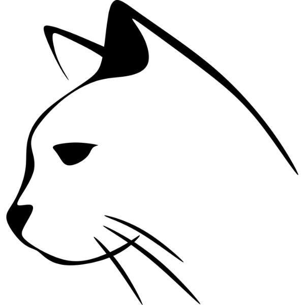 Γάτα Εκτύπωση Στάμπα Μπλουζάκι