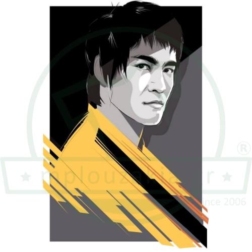 Bruce Lee Illustration Μπλουζάκι