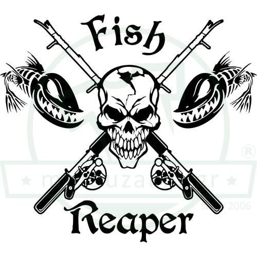 Fish Reaper Νεκροκεφαλή Καλάμια Ψαρέματος