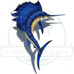 Ψάρι Ξιφίας Καλοκαιρινό Μπλουζάκι
