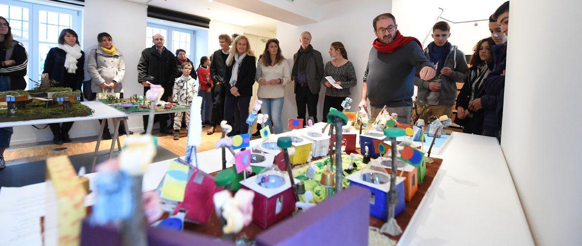 Architecture : quand les élèves construisent leurs villes   M+ Mulhouse