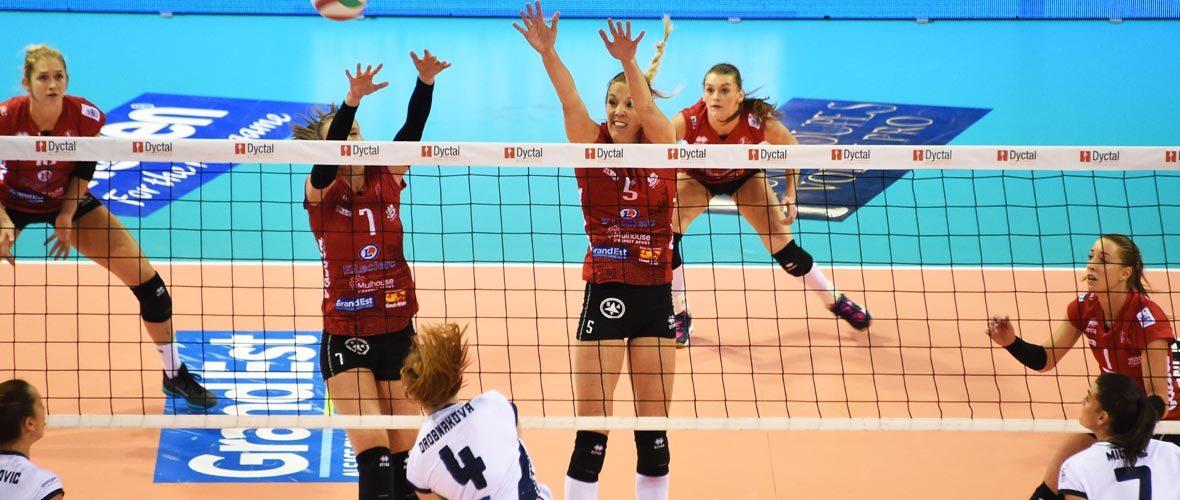 Ligue des champions: les filles de l'Asptt Mulhouse dans le gotha du volley européen | M+ Mulhouse