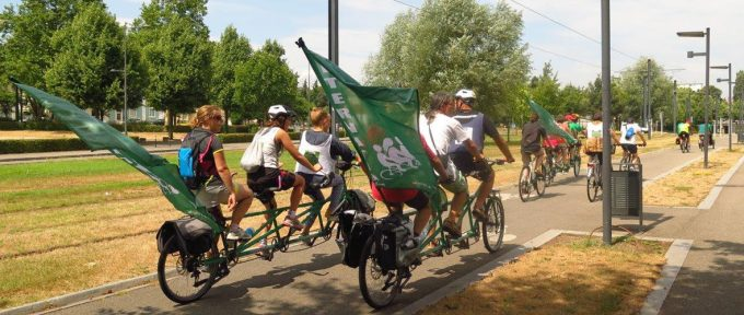 Alternatiba : le Tour des alternatives fait étape à Mulhouse