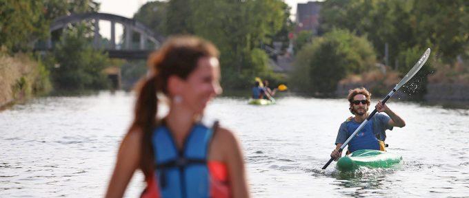 Testé pour vous: du kayak sur le canal avec l'ASCMR