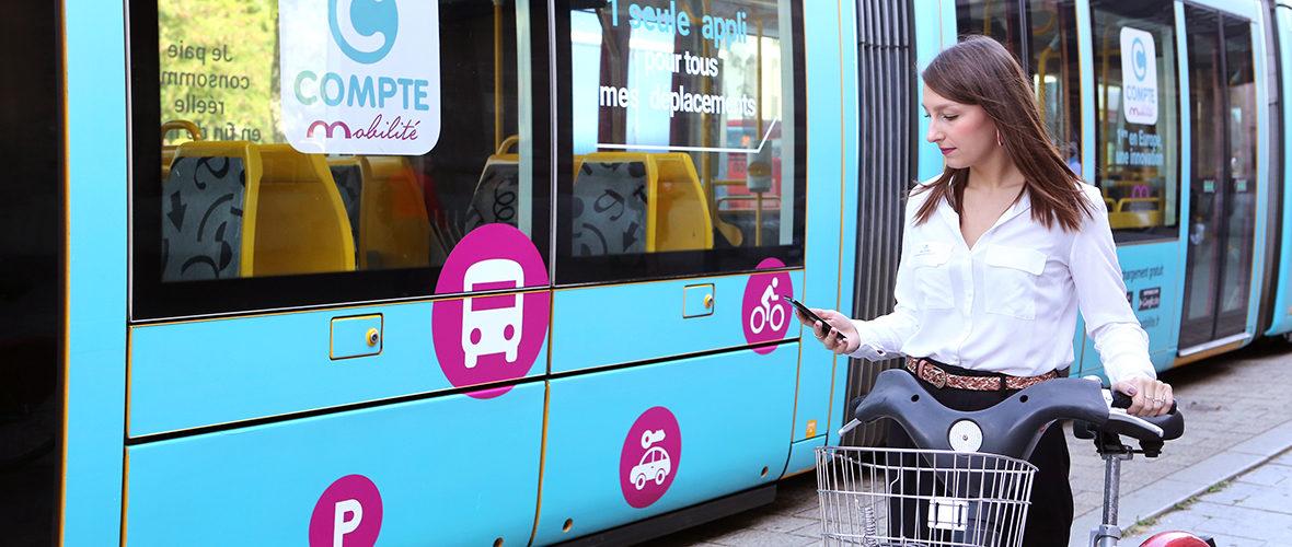 Compte mobilité: une carte et un compte uniques pour tous les transports | M+ Mulhouse