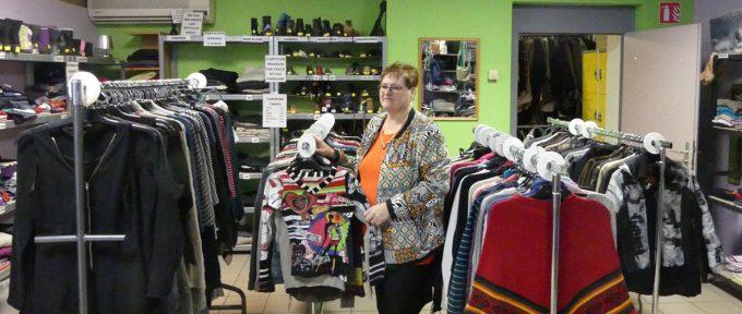 Une nouvelle boutique solidaire de vêtements chez Caritas