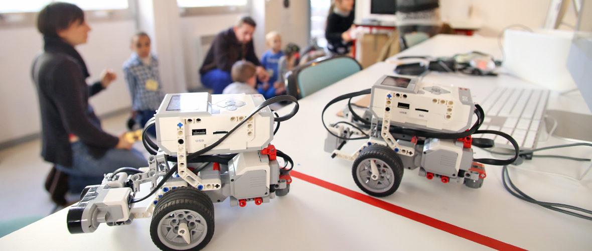 Un atelier de robotique pour reprendre confiance en soi | M+ Mulhouse