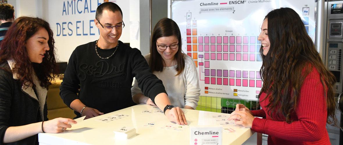 Ecole de chimie : un jeu pour découvrir les éléments | M+ Mulhouse