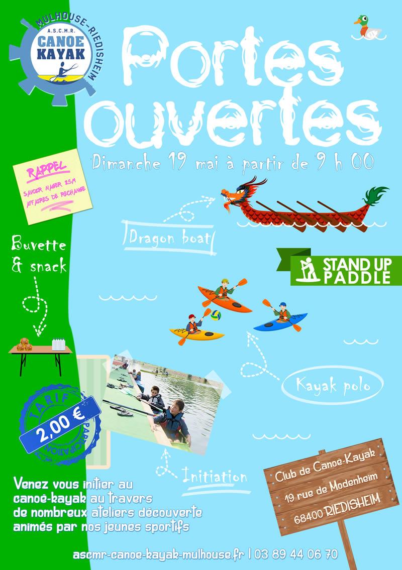 Canoë-kayak : Portes ouvertes de printemps