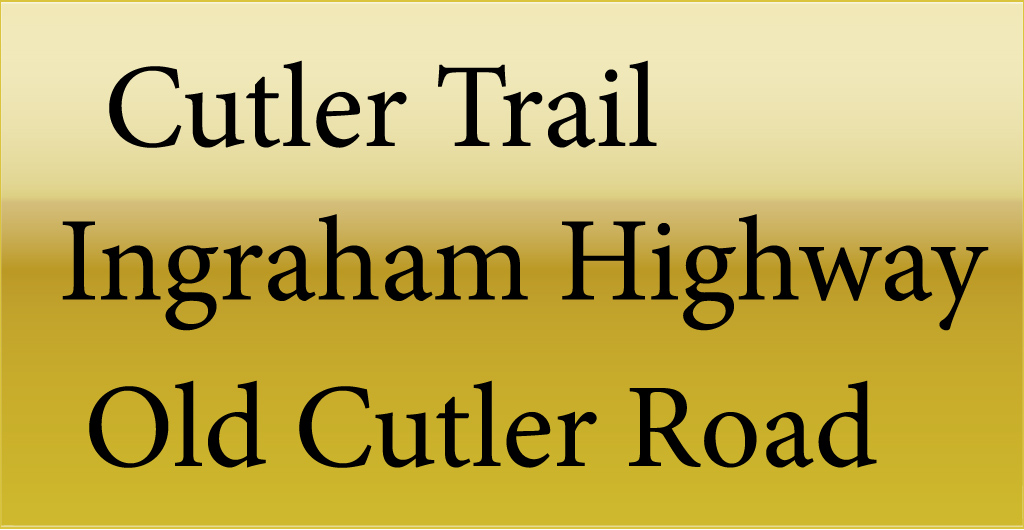The Cutler Trail