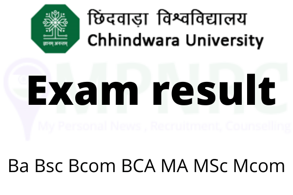 Chhindwara University Result