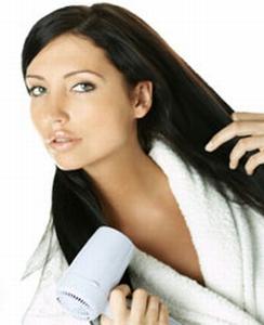 jak szybko wysuszyć włosy