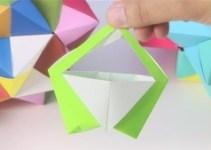 Jak zrobić papierową torebkę origami