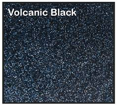 Volcanic Black Fiberglass Finish