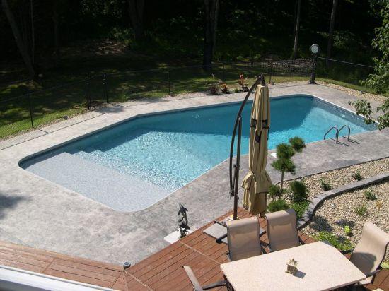 Lazy L Shaped Pool