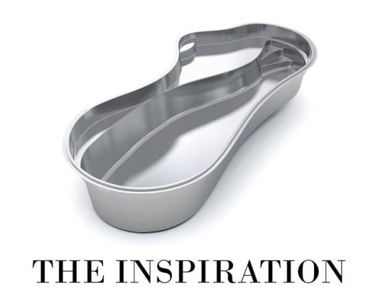 The Inspiration Fiberglass Pool